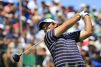 Patrick Reed (USA) tees off the 1st tee to start his match during Friday's Round 2 of the 117th U.S. Open Championship 2017 held at Erin Hills, Erin, Wisconsin, USA. 16th June 2017.<br /> Picture: Eoin Clarke | Golffile<br /> <br /> <br /> All photos usage must carry mandatory copyright credit (&copy; Golffile | Eoin Clarke)