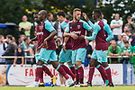 29.07.2017, Heinz-Dettmer-Stadion, Lohne, GER, FSP, SV Werder Bremen vs West Ham United<br /> <br /> im Bild<br /> Marko Arnautovic (West Ham #18) bejubelt seinen Treffer zum 1:1 mit Teamkollegen / celebrates goal after scoring with team mates, <br /> <br /> Foto © nordphoto / Ewert