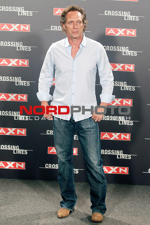Actor William Fichtner attends the spanish photocall of the TV Series 'Crossing Lines'. September 05, 2013. Foto © nph / Acero)