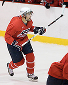Nick Petrecki -Team Red earned the most points during the scrimmage part of the camp which concluded on Monday, August 4, 2008, in Lake Placid, New York.