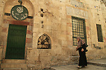 Israel, Jerusalem, Mamluk building at the Old City