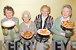 Betty Enright, Eileen Brosnan, Mary O'Brien and Mary Hanifan at the coffee morning in aid of the Hospice at the Saint John's Parish Centre on Friday.