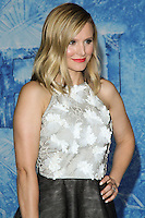 "HOLLYWOOD, CA - NOVEMBER 19: Actress Kristen Bell arrives at the World Premiere Of Walt Disney Animation Studios' ""Frozen"" held at the El Capitan Theatre on November 19, 2013 in Hollywood, California. (Photo by David Acosta/Celebrity Monitor)"