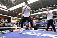 Archie Sharp during a Public Workout at Old Spitalfields Market on 9th July 2019