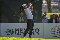 Abraham Ancer (MEX) watches his tee shot on 7 during round 1 of the World Golf Championships, Mexico, Club De Golf Chapultepec, Mexico City, Mexico. 2/21/2019.<br /> Picture: Golffile | Ken Murray<br /> <br /> <br /> All photo usage must carry mandatory copyright credit (© Golffile | Ken Murray)