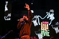 SÃO PAULO, SP 02.06.2019: FESTIVAL LULA LIVRE-SP - No palco Dead Fish. Artistas e militantes se uniram no Festival Lula Livre, que aconteceu na tarde deste domingo (02) na Praça da República, zona central da capital paulista, em protesto contra a prisão do ex-presidente Lula. (Foto: Ale Frata/Codigo19)
