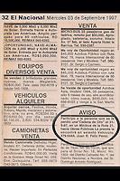 Muestra una de las pertencias recuperada por un policia dominicano el cual ha hecho un publicación en periodicos para devolverlas a su dueño. Foto/Fuente Externa
