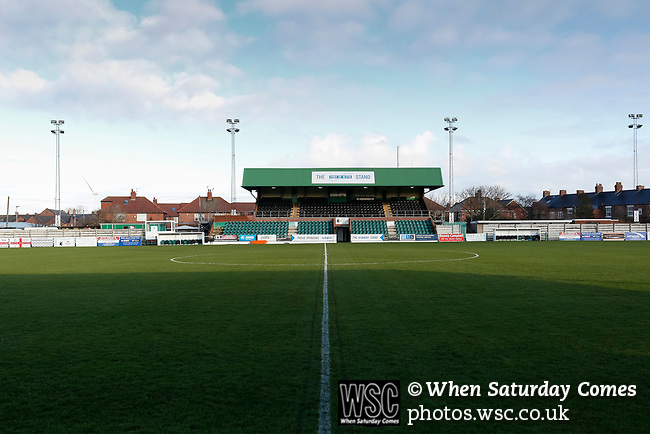 View of Croft Park. Blyth Spartans v Brackley Town, 30112019. Croft Park, National League North. Photo by Paul Thompson.