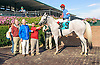 Hiram winning at Delaware Park on 10/14/15