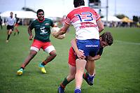 Horowhenua Kapiti v Wairarapa Bush men. 2018 Central Regional Sevens at Playford Park in Levin, New Zealand on Saturday, 1 December 2018. Photo: Dave Lintott / lintottphoto.co.nz