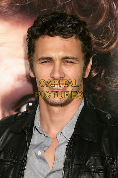 "JAMES FRANCO.""Knocked Up"" Los Angeles Premiere at Mann's Village Theatre, Westwood, California, USA..May 21st, 2007.headshot portrait stubble facial hair .CAP/ADM/BP.©Byron Purvis/AdMedia/Capital Pictures"