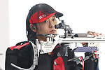 Mai Toishi (JPN), <br /> AUGUST 22, 2018 - Shooting - Rifle : <br /> Women's 50m Rifle 3 Positions<br /> at Jakabaring Sport Center Shooting Range <br /> during the 2018 Jakarta Palembang Asian Games <br /> in Palembang, Indonesia. <br /> (Photo by Yohei Osada/AFLO SPORT)