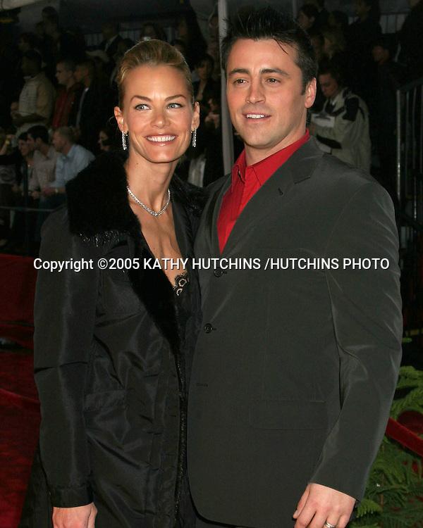 ©2005 KATHY HUTCHINS /HUTCHINS PHOTO.PEOPLE'S CHOICE AWARDS.PASADENA, CA.JANUARY 9, 2005..MATT LE BLANC.WIFE