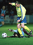 Action from the Drogheda United's game against Finn Harps..Picture Paul Mohan Newsfile