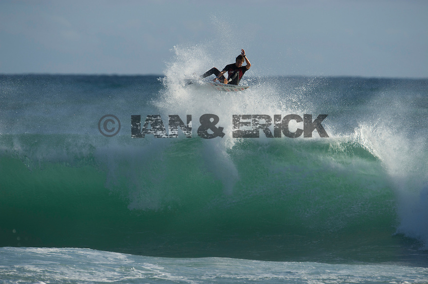 Pat Gudauskas at Gas Bay near Margaret River in Western Australia.