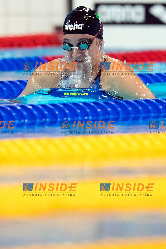 Francesca FANGIO ITA<br /> 200m Breaststroke Preliminary <br /> London, Queen Elizabeth II Olympic Park Pool <br /> LEN 2016 European Aquatics Elite Championships <br /> Swimming<br /> Day 11 19-05-2016<br /> Photo Andrea Staccioli/Deepbluemedia/Insidefoto