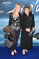 Esther Rantzen<br /> at the Cirque du Soleil &quot;Amaluna&quot; 1st night, Royal Albert Hall, Knightsbridge, London.<br /> <br /> <br /> &copy;Ash Knotek  D3218  12/01/2017