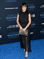 """LOS ANGELES, USA. December 17, 2019: Constance Zimmer at the world premiere of """"Star Wars: The Rise of Skywalker"""" at the El Capitan Theatre.<br /> Picture: Paul Smith/Featureflash"""