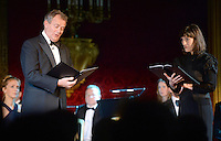 09 March 2016 - London, England - Hugh Bonneville and Harriet Walter perform as the Prince of Wales hosts a gala concert marking the 10th anniversary of the Children and the Arts charity at St James's Palace, London. Photo Credit: ALPR/AdMedia
