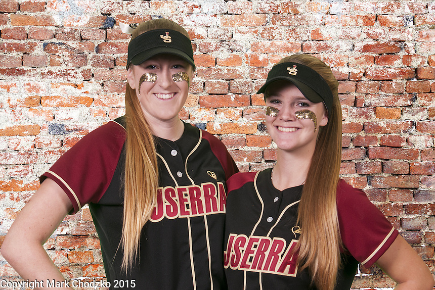 The JSerra Girls Softball team has some fun doing a green screen shoot!