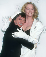 Dudley Moore, Cybill Shepherd, 1995, Photo By Michael Ferguson/PHOTOlink