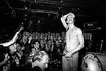 NEW YORK - JANUARY 1993:  Iggy Pop performs at the Continental Divide in January 1993 in New York City, New York. (Photo by Catherine McGann)Copyright 2010 Catherine McGann