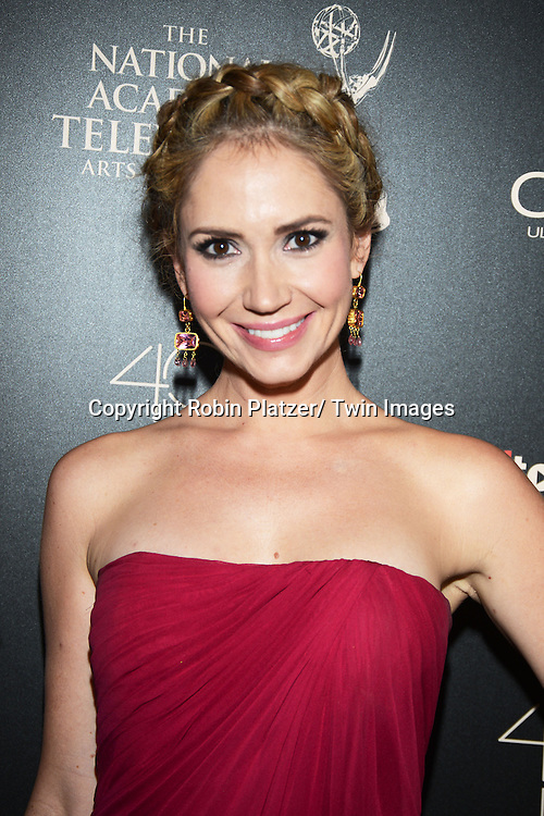 Ashley Jones attends The 40th Annual Daytime Emmy Awards on<br />  June 16, 2013 at the Beverly Hilton Hotel in Beverly Hills, California. <br /> photo by Robin Platzer/ Twin Images<br /> <br /> 212-935-0770
