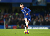 2nd February 2019, Stamford Bridge, London, England; EPL Premier League football, Chelsea versus Huddersfield Town; Ross Barkley of Chelsea passing the ball into midfield