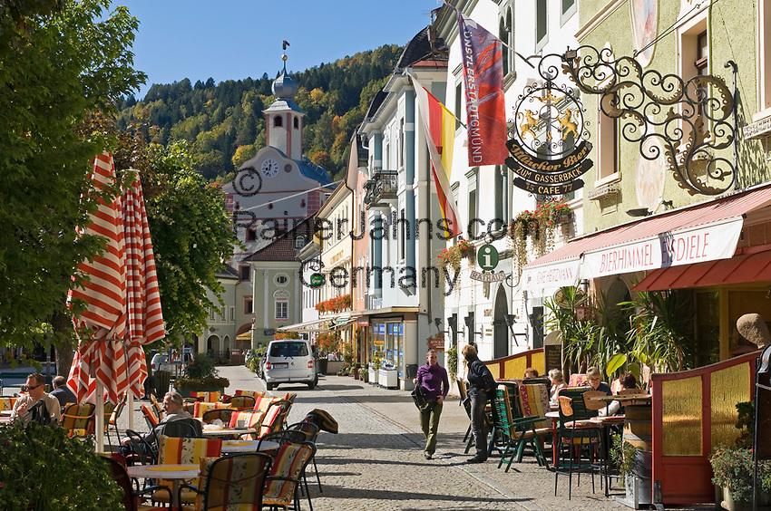 Oesterreich, Kaernten, Kuenstlerstadt Gmuend im Liesertal: Altstadt, Zentrum   Austria, Carinthia, artist town Gmuend at Lieser Valley: old town, centre