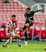 27th June 2020; Bet365 Stadium, Stoke, Staffordshire, England; English Championship Football, Stoke City versus Middlesbrough; Marcus Tavernier of Middlesbrough shoots and  scores a goal in the 62 minute to put Middlesbrough ahead 0-2