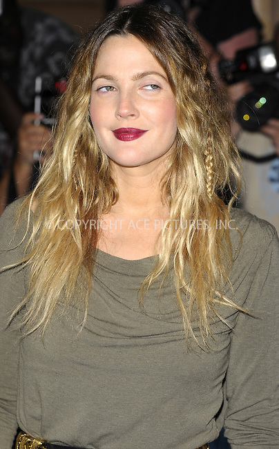 WWW.ACEPIXS.COM . . . . .  ..... . . . . US SALES ONLY . . . . .....August 19 2010, London....Actress Drew Barrymore arriving at the World Premiere of 'Going The Distance' at the Vue, Leicester Square on August 19, 2010 in London, England.....Please byline: FAMOUS-ACE PICTURES... . . . .  ....Ace Pictures, Inc:  ..Tel: (212) 243-8787..e-mail: info@acepixs.com..web: http://www.acepixs.com