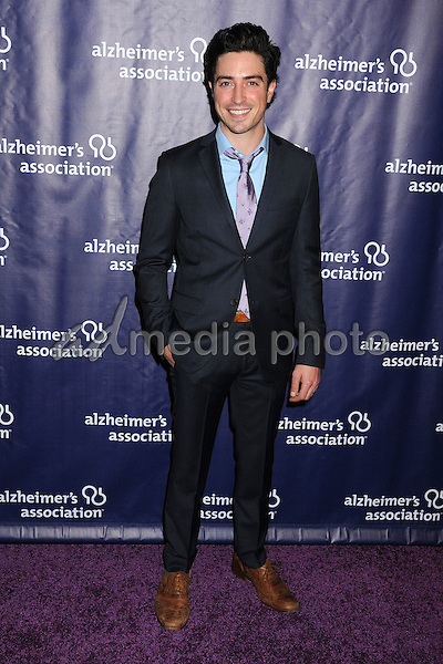 """18 March 2015 - Beverly Hills, California - Ben Feldman. 23rd Annual """"A Night at Sardi's"""" Benefit for the Alzheimer's Association held at The Beverly Hilton Hotel. Photo Credit: Byron Purvis/AdMedia"""
