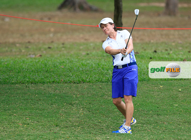 Catriona Matthew (SCO) on the 10th fairway during Round 1 of the Honda LPGA Thailand on Thursday 23rd February 2017.<br /> Picture:  Thos Caffrey / Golffile