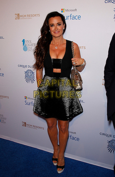 20 March 2015 - Las Vegas, NV -   Kyle Richards.  One Night For One Drop Blue Carpet at The Mirage Hotel and Casino.<br /> CAP/ADM/MJT<br /> &copy; MJT/AdMedia/Capital Pictures