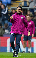 Man City coach Mikel Arteta during the Premier League match between Crystal Palace and Manchester City at Selhurst Park, London, England on 31 December 2017. Photo by Andy Rowland.