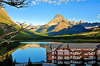 Swiftcurrent Lake, Glacier NP, Montana,Sunrise