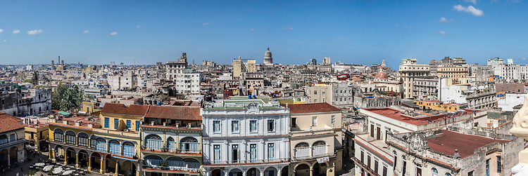 February 27 - March 7 2017 / Cuba / Havana, to Trinidad de Cuba / Shown:  Havana Cuba from top of Camera Obscura building. Photo by Bob Laramie