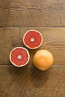 organic produce, ruby red grapefruit