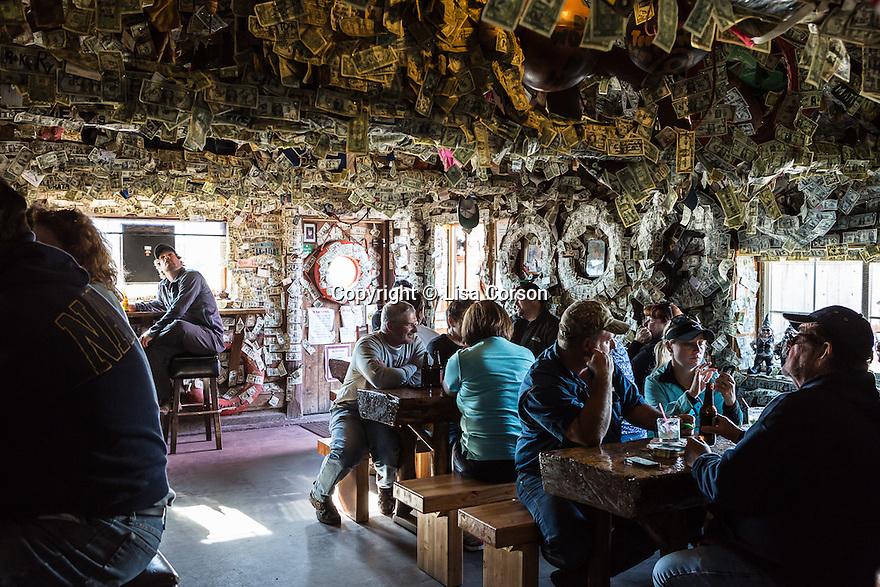 Salty Dawg Saloon on The Homer Spit. Homer, Alaska.