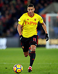Watford's Richarlison in action during the premier league match at Selhurst Park Stadium, London. Picture date 12th December 2017. Picture credit should read: David Klein/Sportimage