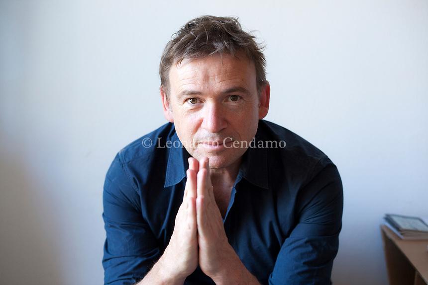 David Alan Nicholls è uno scrittore; sceneggiatore e autore televisivo inglese. Mantova 6 settembre 2019. © Leonardo Cendamo
