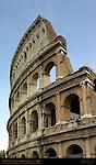 Original Exterior Wall Western edge Colosseum Rome