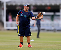 Kent coach Matt Walker during the Vitality Blast south group game between Kent Spitfires and Surrey at the St Lawrence ground, Canterbury, on Fri July 20, 2018