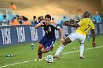 Shinji Okazaki (JPN), <br /> JUNE 24, 2014 - Football /Soccer : <br /> 2014 FIFA World Cup Brazil <br /> Group Match -Group C- <br /> between Japan 1-4 Colombia <br /> at Arena Pantanal, Cuiaba, Brazil. <br /> (Photo by YUTAKA/AFLO SPORT)