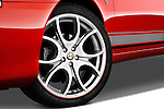 Tire and wheel close up detail view of a 2000 - 2010 Alfa Romeo 147 5 Door Ducati Corse Hatchback.