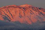 San Jacinto at sunrise