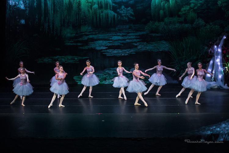 "Saturday Evening Performance of ""A Mermaid's Dream"", the 2015 Annual Recital by the Cary Ballet Conservatory."