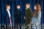 Cast members of Kerry School of Music and Performing Arts production of Les Miserables at Siamsa Tire Thursday to Saturday september 24th -26th Pictured l-r Sean Atkinson, Mairtin O Cathasaigh, Alan McLoughlin and Maeve Dowling