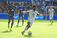 Nathan Dyer of Swansea City in action during the Sky Bet Championship match between Swansea City and Cardiff City at the Liberty Stadium in Swansea, Wales, UK. Sunday 27 October 2019