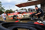 Feb 07, 2011; 3:38:05 PM; Gibsonton, FL., USA; The Lucas Oil Dirt Late Model Racing Series running The 35th annual Dart WinterNationals at East Bay Raceway Park.  Mandatory Credit: (thesportswire.net)